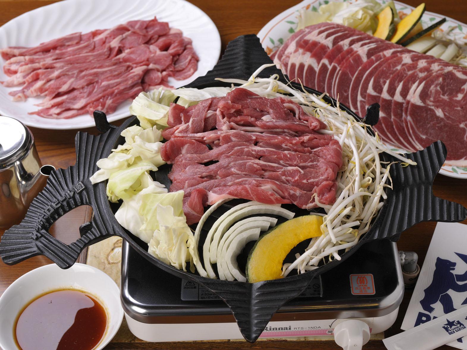 Genghis Khan mutton BBQ