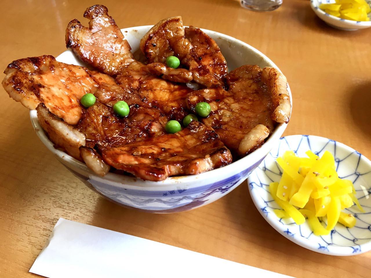 Pork Rice Bowls
