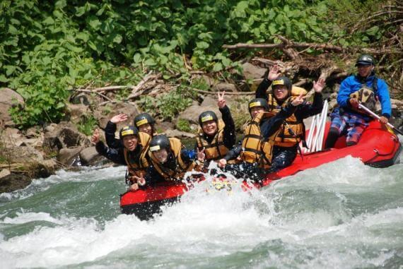 Raft Down the Shiribetsu River and Visit a Local Onsen