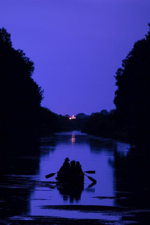 Enjoy Nighttime Cruising on the Beautiful Obihiro River