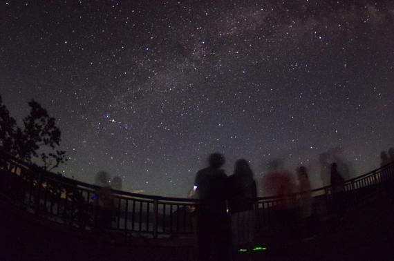 Marvel at the Night Sky Alive with Stars Above Lake Mashu