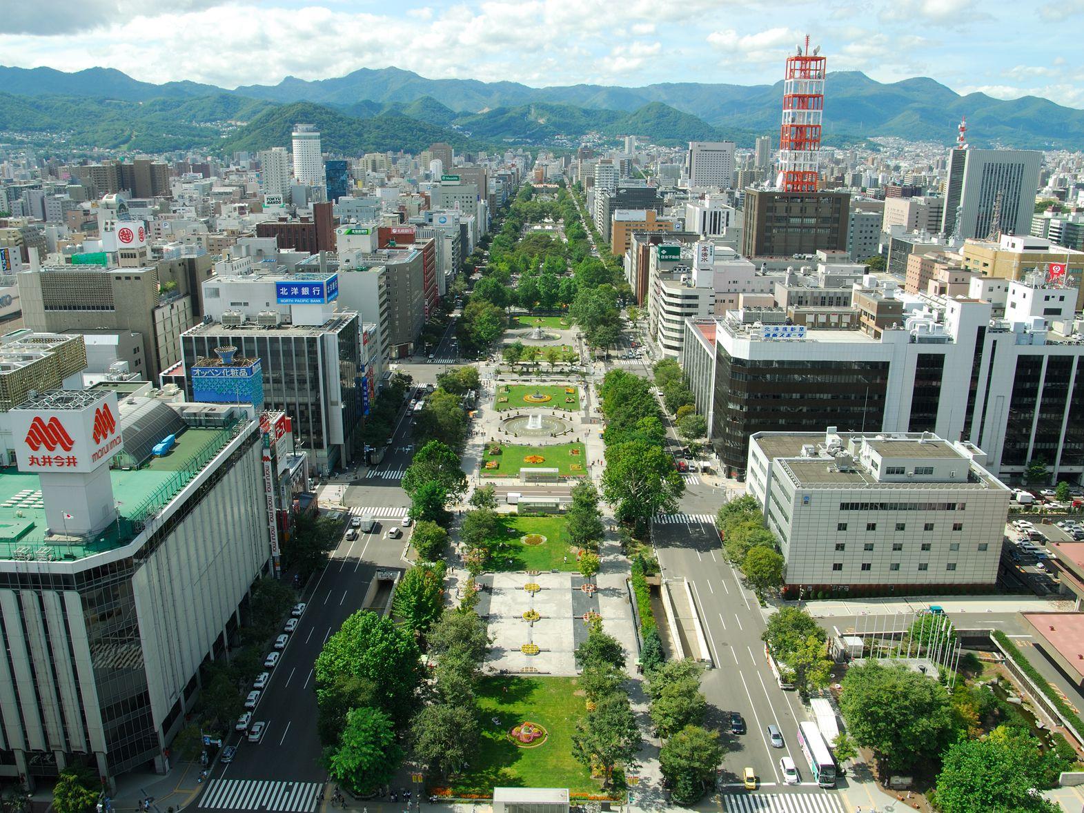 Odori Park: Get Festive in the Heart of Sapporo