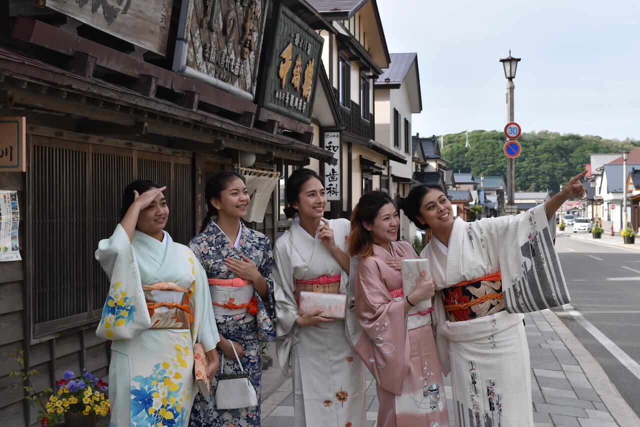 Kimono Walk: Relive Esashi's Long History of Trade in Period Dress