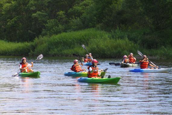 Kayaking for All Skill Levels at Niseko's Shiribetsu River