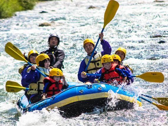 """Go Rafting Down Asahikawa's """"River of Waves"""""""