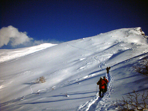 Snowshoeing and Snow Play in Japan's Biggest National Park