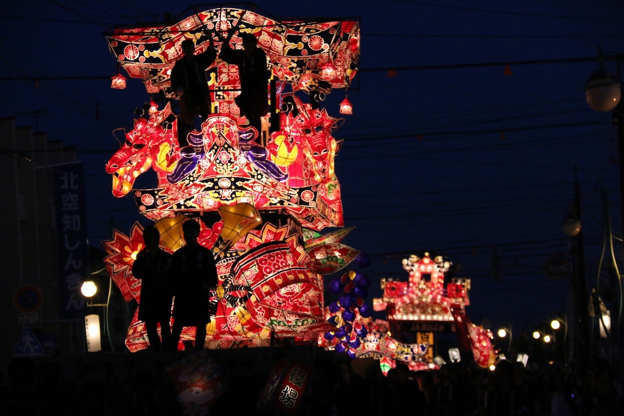 The Yohtaka Andon Festival: A Collision of Giant Paper Lanterns