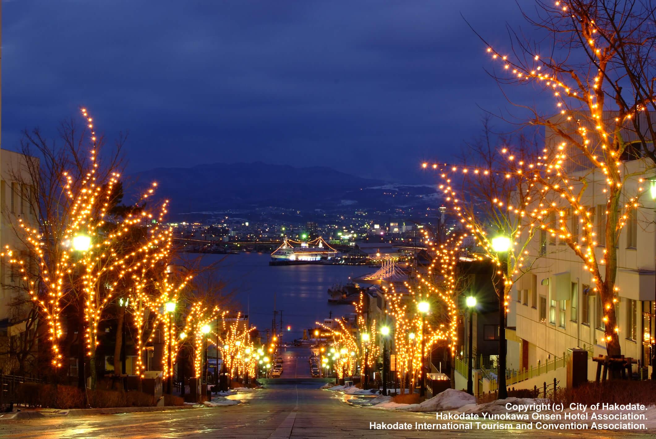 Hakodate's Romantic Corridor of Lights