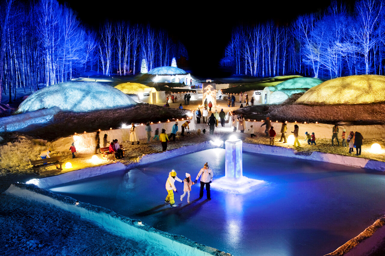 Experience a Magical Village of Ice