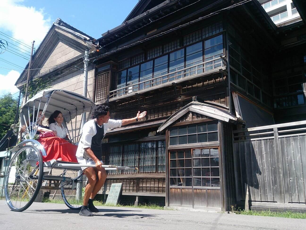 See Otaru in Style with an Ebisuya Rickshaw Tour
