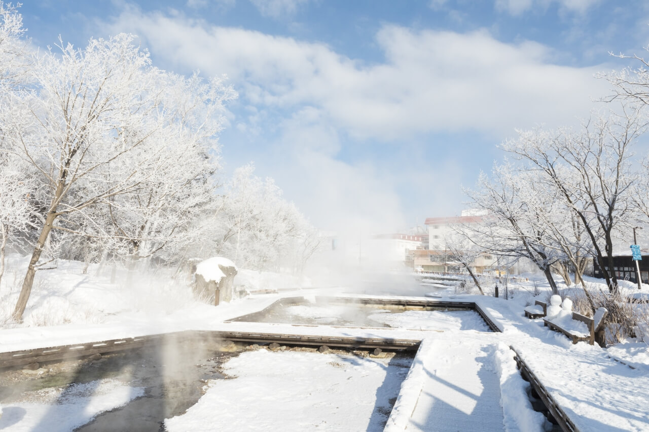 Stunning Landscapes and Hot Springs in Kawayu Onsen