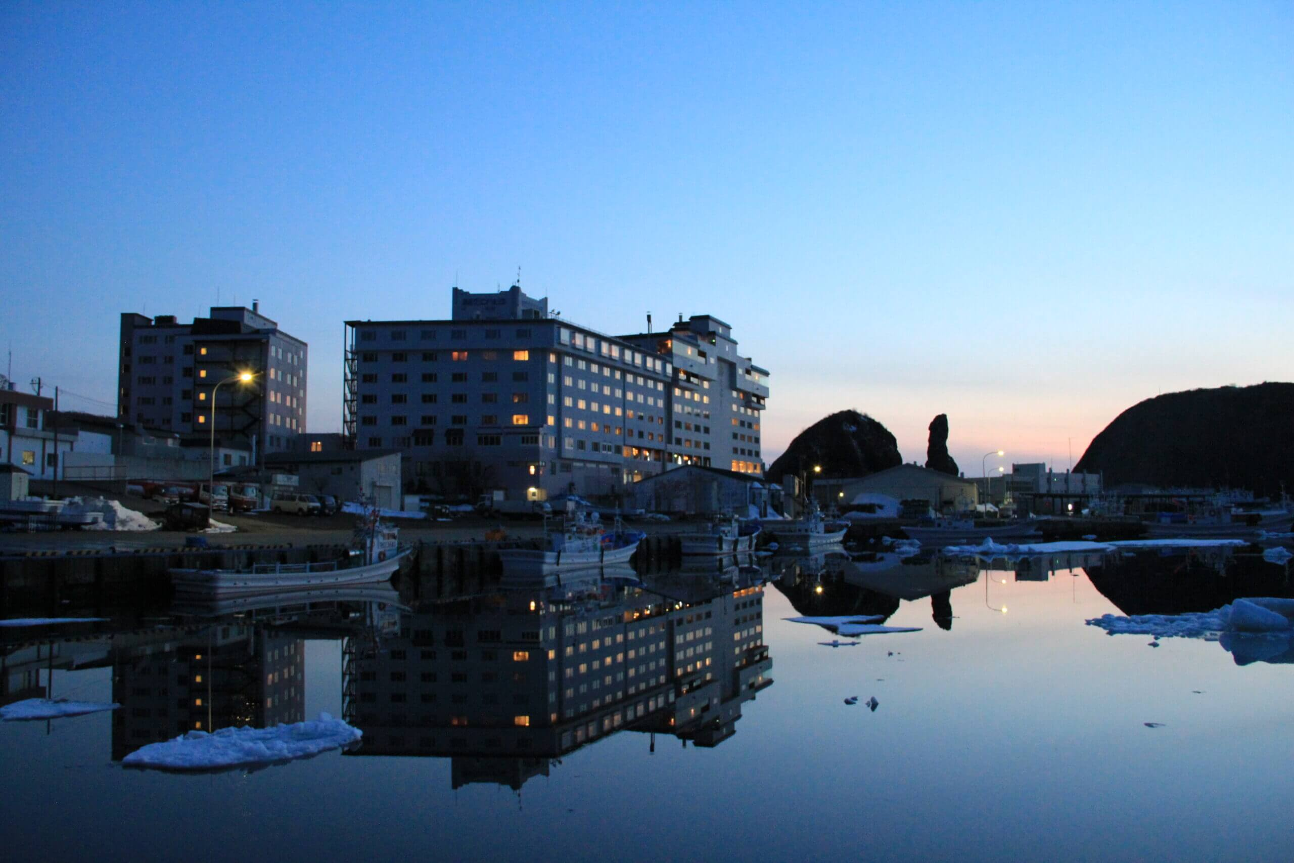 Enjoy Hots Springs and Sea Views in Utoro Onsen