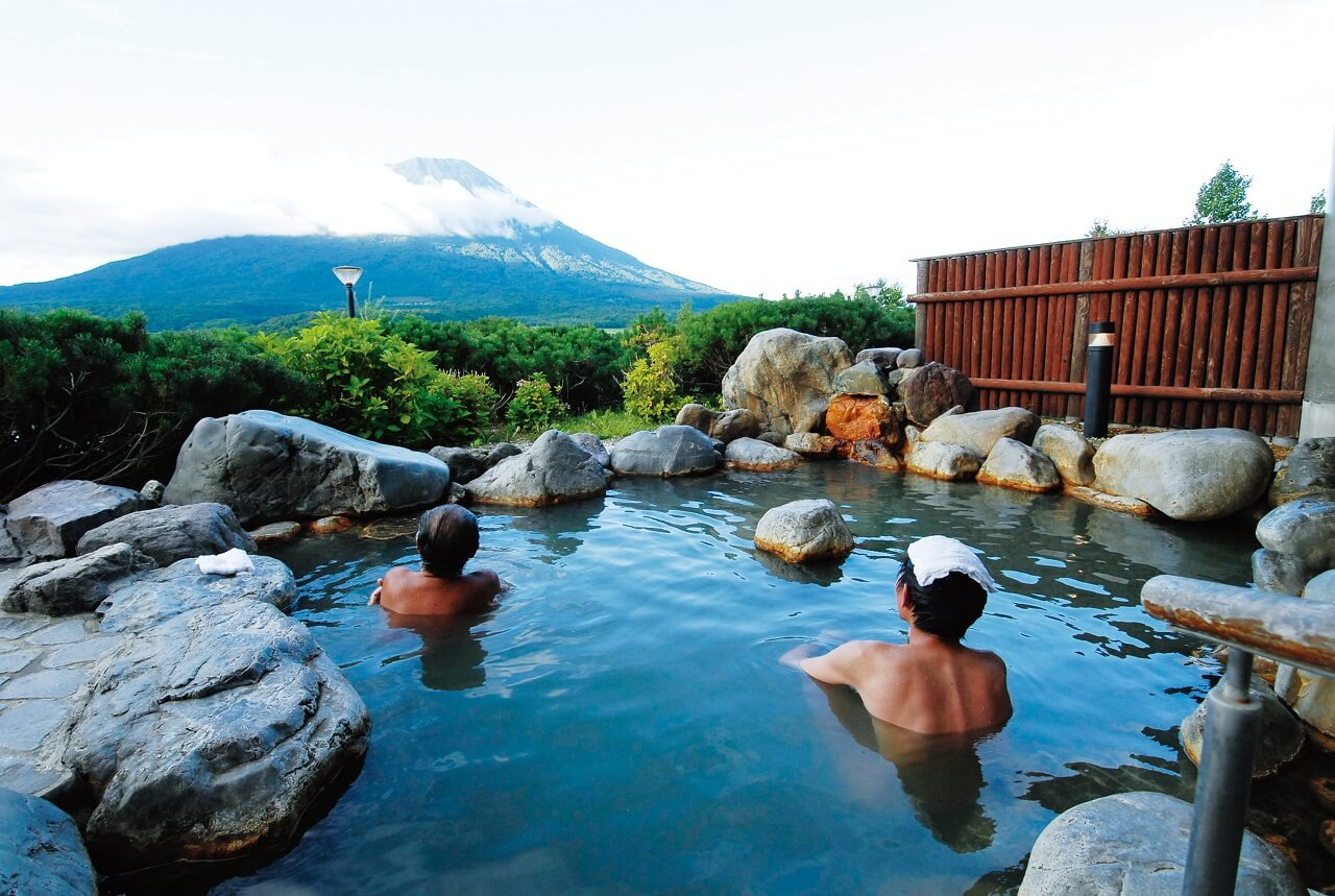 Enjoy Mountain Views from Makkari Onsen