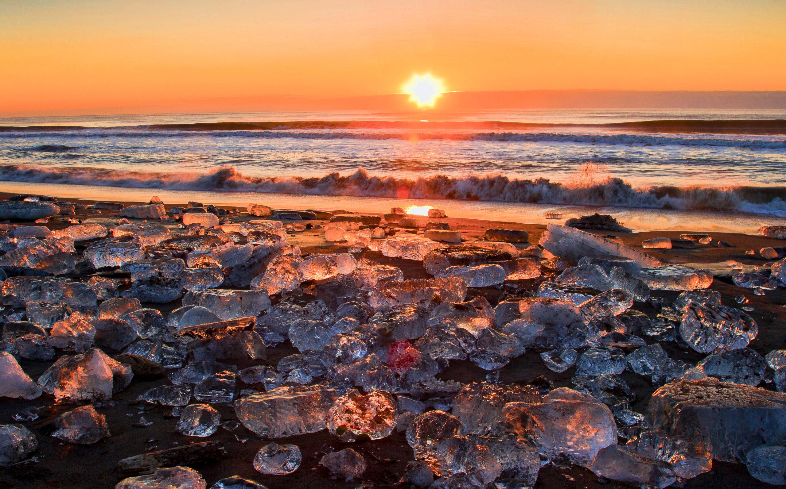 Jewelry Ice: a Secret Winter Marvel in Hokkaido