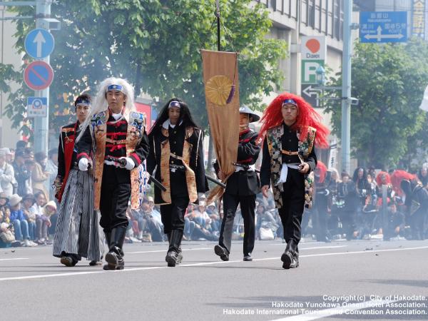 Hakodate Goryokaku Festival: Mid-May