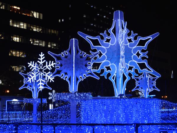 Sapporo White Illumination: Late November to Mid-February