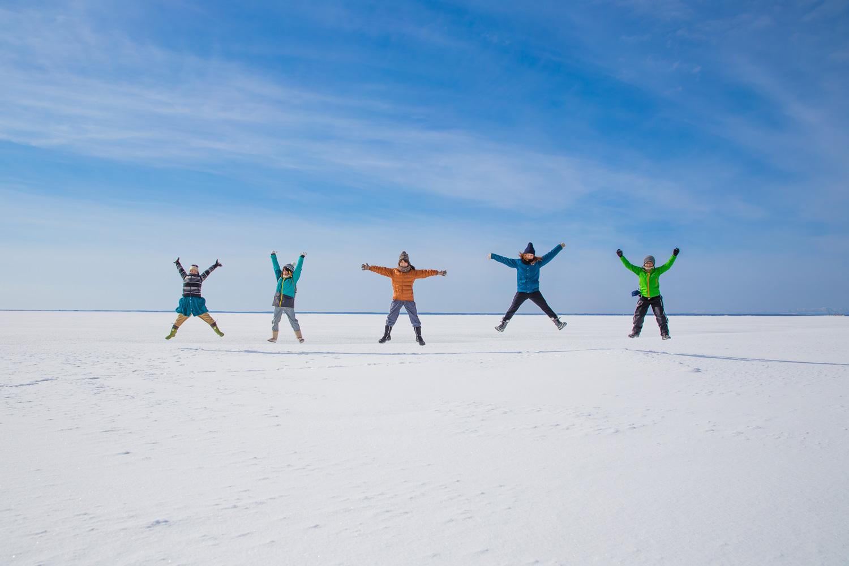 Beautiful Winter Sceneries in Hokkaido