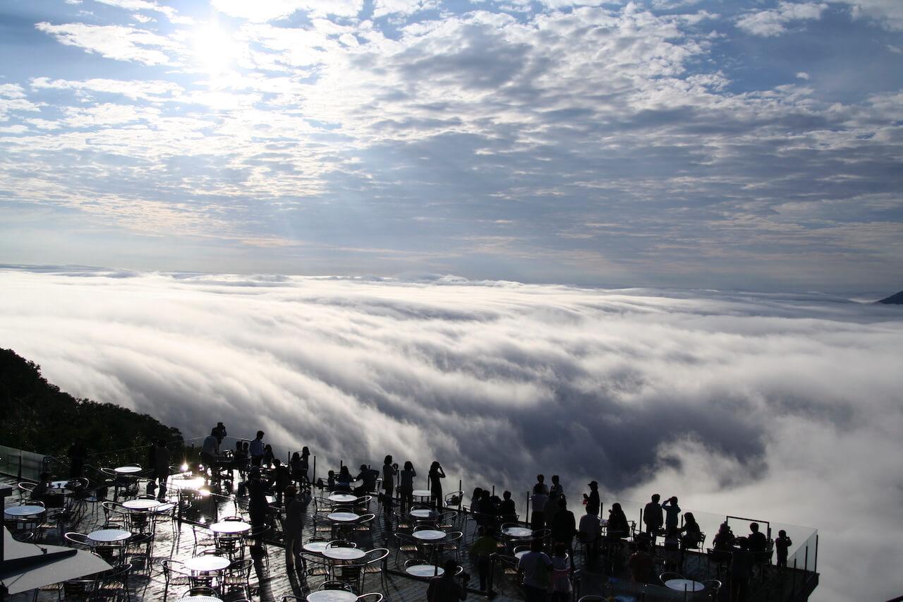 Unkai (sea of clouds) Terrace
